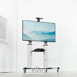 Ultra Tv Par Heavy Duty Chariot Mobile 60 À Mont Fits 100 Écrans Plats