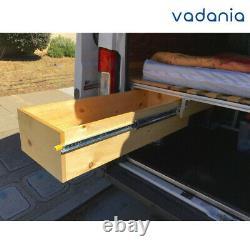Vd2576 485lb Diapositives À Tiroirs Ultra Lourds Avec Support Latéral De Verrouillage 1pair