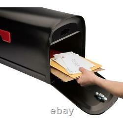 Verrouillage Secure Mailbox 11,2 Po X 11,4 Po Dans La Boîte De Montage À Clé De Poids Lourd En Acier
