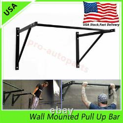 Wall Mounted Heavy Duty Chin Pull Up Bar Gym Workout Training Fitness 500 Lbs États-unis